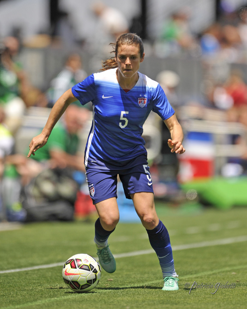 Kelley O'Hara says she isn't getting caught up in the hype of the Group of Death. (Photo Copyright Patricia Giobetti for The Equalizer)