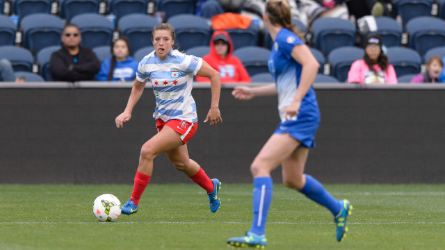 Sofia Huerta has scored four goals in two matches. (Photo Courtesy Chicago Red Stars)