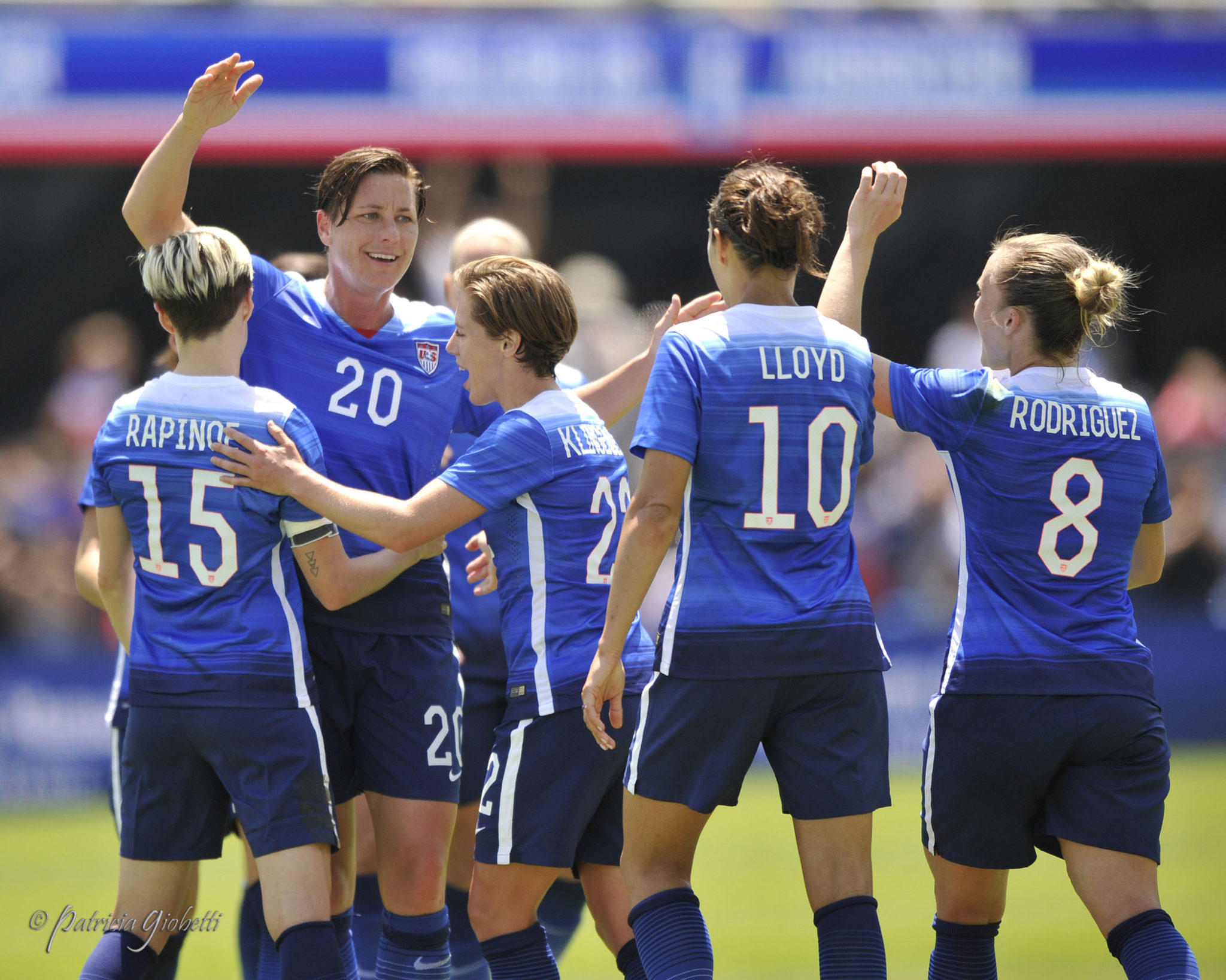 The U.S. women have had plenty of distractions ahead of the World Cup. (Photo Copyright Patricia Giobetti for The Equalizer)