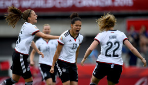 Germany scored early and often against Ivory Coast on Sunday.  (Getty Images)
