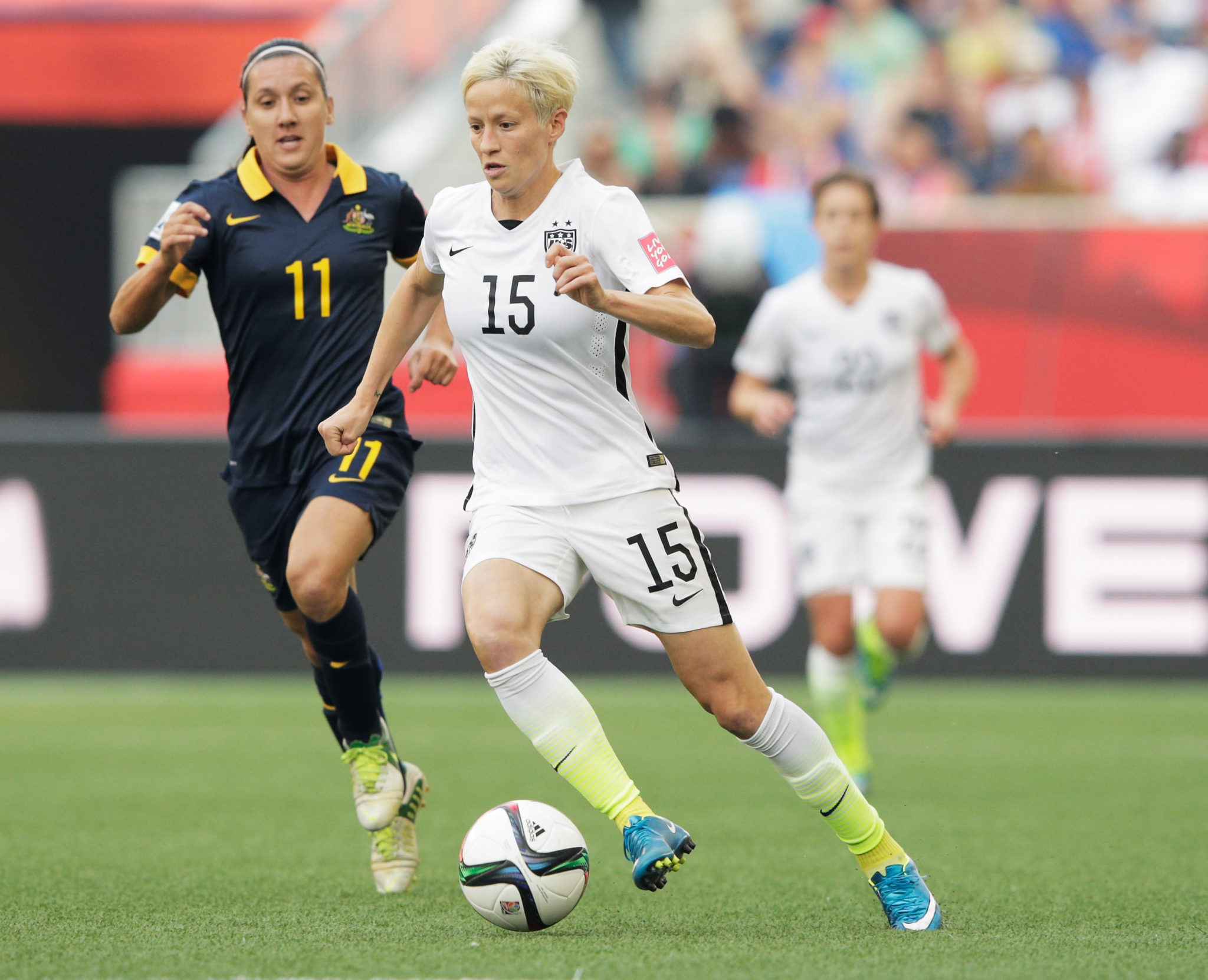 Australia has long chased the USWNT. They open ToN play against each other Thursday night. (Getty Images)