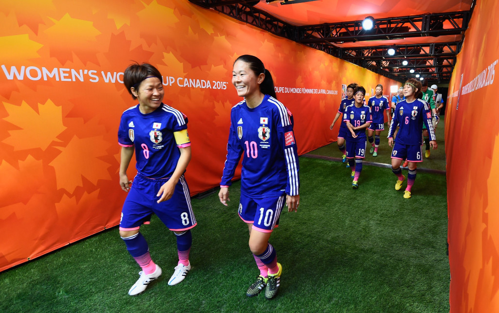 Homare Sawa (10) has now played in a record six World Cups. (Getty Images)
