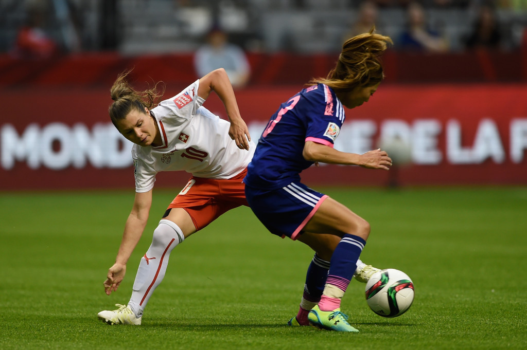 Romona Bachmann and Switzerland impressed against Japan, making the reigning world champs look shaky. (Getty Images)