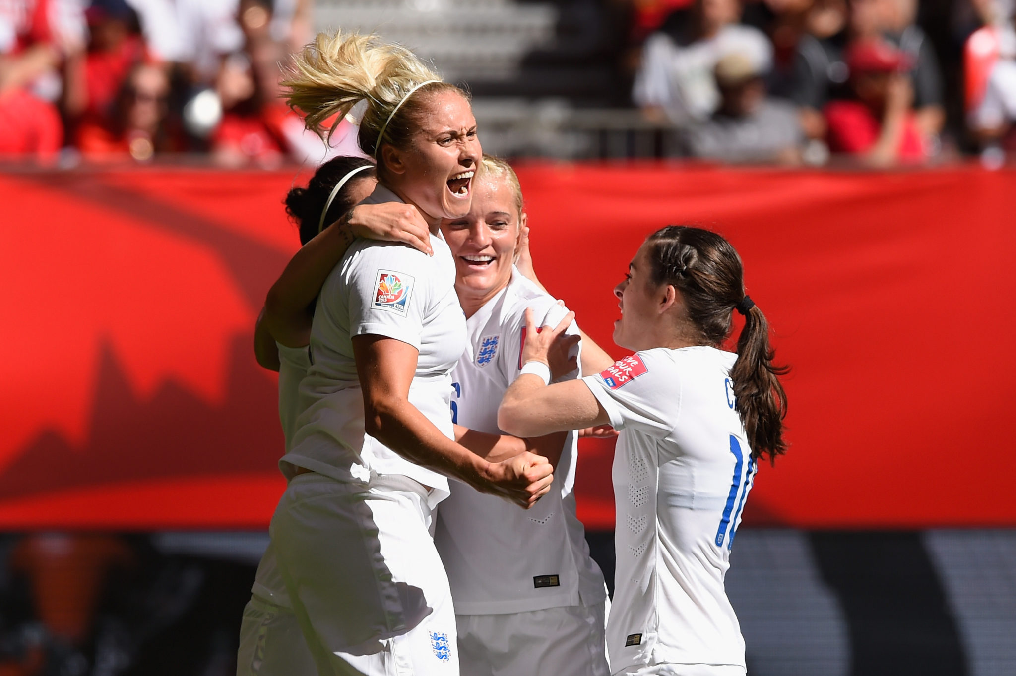England's ability to finish and their deep bench get Mark Sampson's squad an A+. (Getty Images)