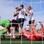 Marie-Laure Delie (18) scored after 34 seconds had expired, setting the tone in France's 5-0 win over Mexico (Getty Images)