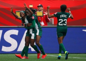 Nigeria rallied late to snatch a point in a dramatic, 3-3 draw against Sweden (Getty Images)