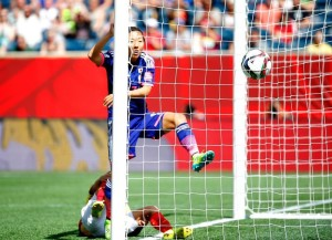 Yuki Ogimi scored the only goal Tuesday in Japan's 1-0 win over Ecuador (Getty Images)