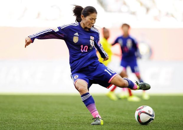 Homare Sawa is now the mother of a baby daughter. (Getty Images)