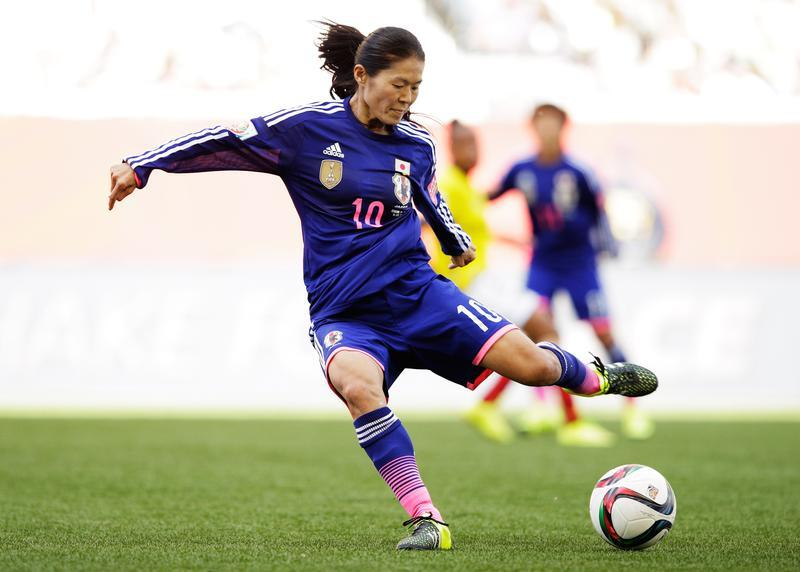 Homare Sawa announced her retirement on Wednesday. (Getty Images)