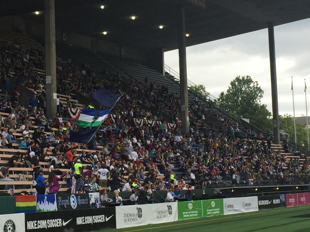 Seattle Reign FC drew a season-high 5,778 fans on Saturday. (Photo Copyright Patricia Giobetti for The Equalizer)