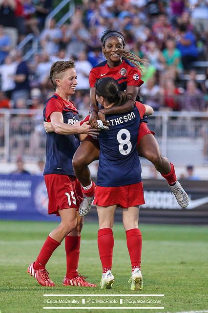 Crystal Dunn has 12 goals this season. (Photo Copyright Eric McCaulley for The Equalizer)