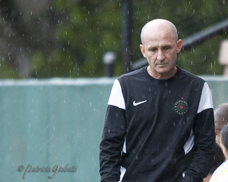 Paul Riley and the Thorns have a lot to figure out. (Photo Copyright Patricia Giobetti for The Equalizer)