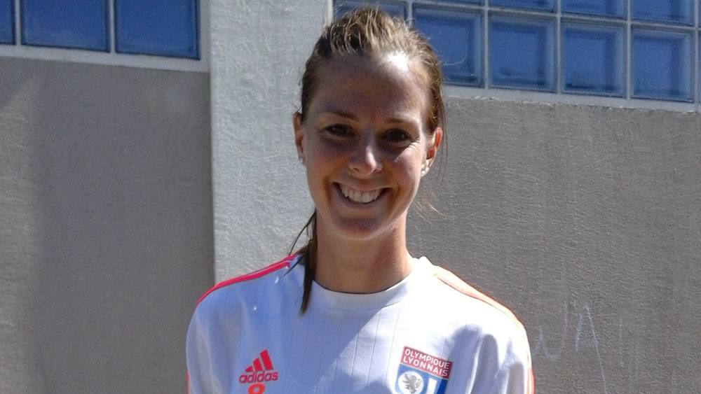 Lotta Schelin's sights are now set on a Chanpions League title. (Photo Copyright Harjeet Johanl for The Equalizer)