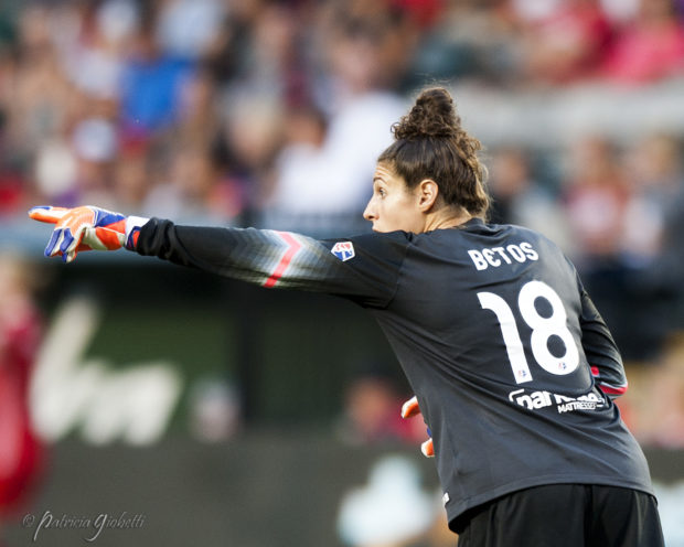 Michelle Betos, always one of the most popular Thorns, is heading to Norway. (Photo Copyright Patricia Giobetti for The Equalizer)