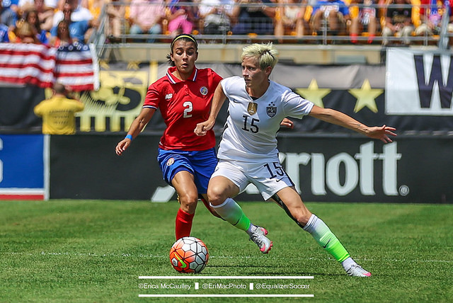 Megan Rapinoe is back to full training with the USWNT. Will she make the 18-player Olympic roster? (Photo Copyright Erica McCaulley for The Equalizer)