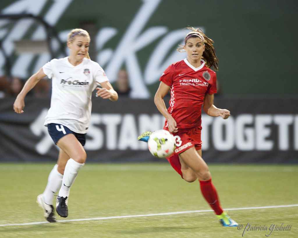 The Spirit are in the NWSL playoffs, but will they host a semifinal? And the Thorns are eliminated after showing flashes of their good and bad sides. (Photo Copyright Patricia Giobetti for The Equalizer)