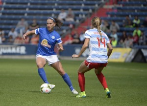 Lauren Holiday and title holders FC Kansas City are headed back to the NWSL Championship. (Photo Courtesy FC Kansas City)