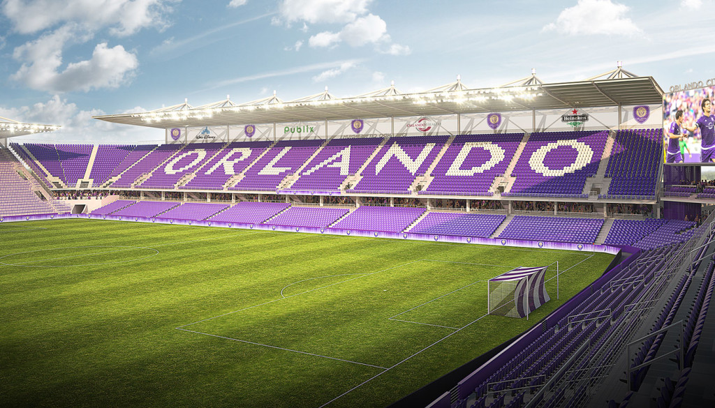 Orlando's 25,000-seat soccer-specific stadium, which will be home to Orlando Pride and Orlando City SC, won't be ready until 2017. (Photo: Orlando City SC)