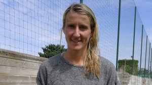 Anja Mittag is enjoying her first few weeks with PSG. (Photo Copyright Harjeet Johal for The Equalizer)