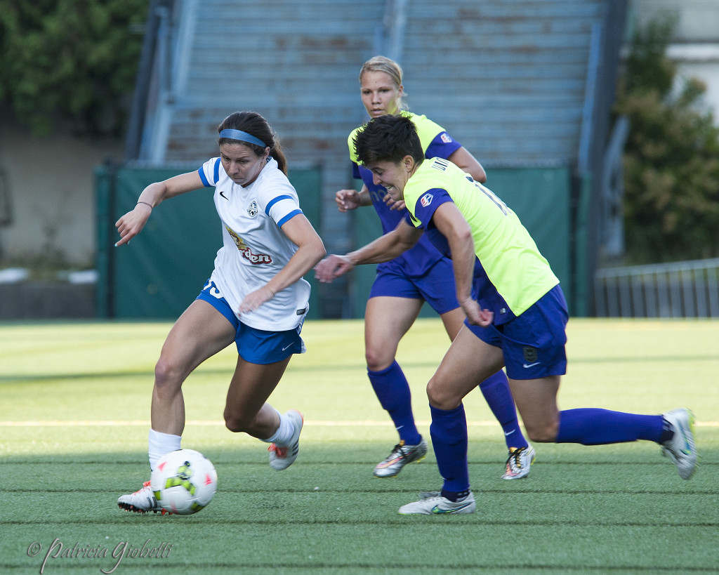 FC Kansas City and Seattle Reign FC will play in the NWSL Championship for the second straight season on Oct. 1. (Photo Copyright Patricia Giobetti for The Equalizer)