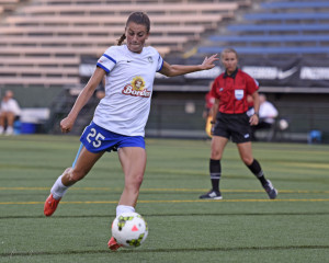 Mandy Laddish has stepped into an important role for FC Kansas City this season. (Photo Copyright Patricia Giobetti for The Equalizer)