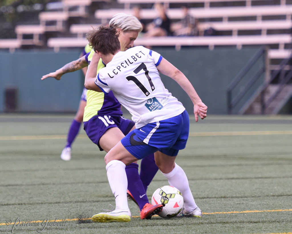Jess Fishlock and Amy LePeilbet each made the NWSL Best XI. (Photo Copyright Patti Giobetti for The Equalizer)