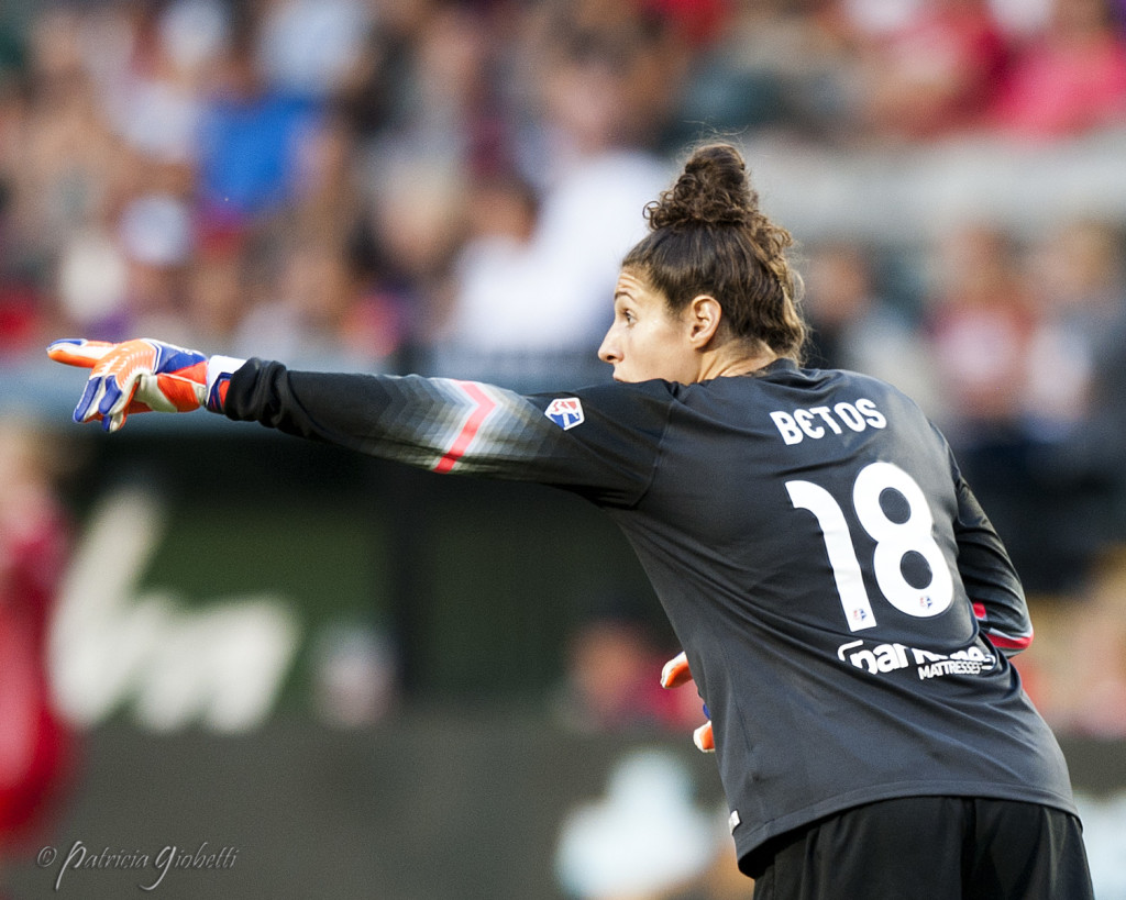 Michelle Betos is the 2015 NWSL Goalkeeper of the Year. (Photo Copyright Patricia Giobetti for The Equalizer)