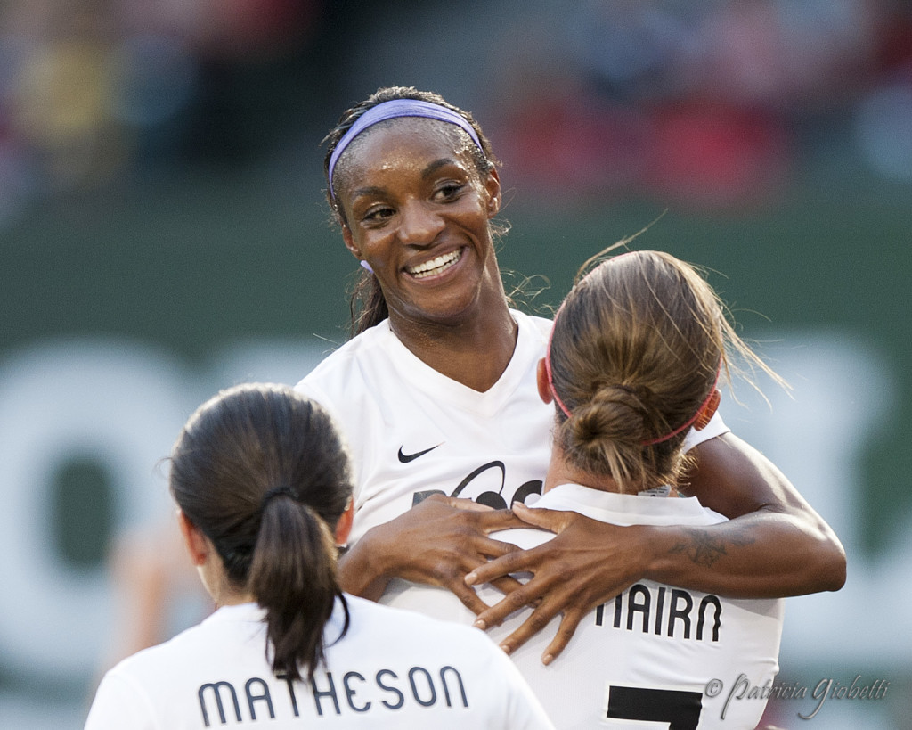 Crystal Dunn is the 2015 NWSL MVP. (Photo Copyright Patricia Giobetti for The Equalizer)