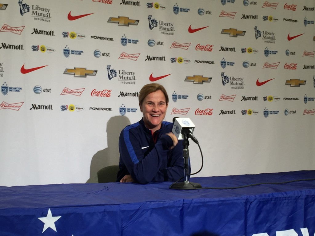 Jill Ellis has brought in a handful of fresh faces for this USWNT camp. (Photo Copyright Harjeet Johal for The Equalizer)