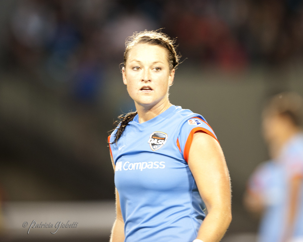 Brittany Bock was waived by the Houston Dash. (Photo Copyright Patti Giobetti for The Equalizer)