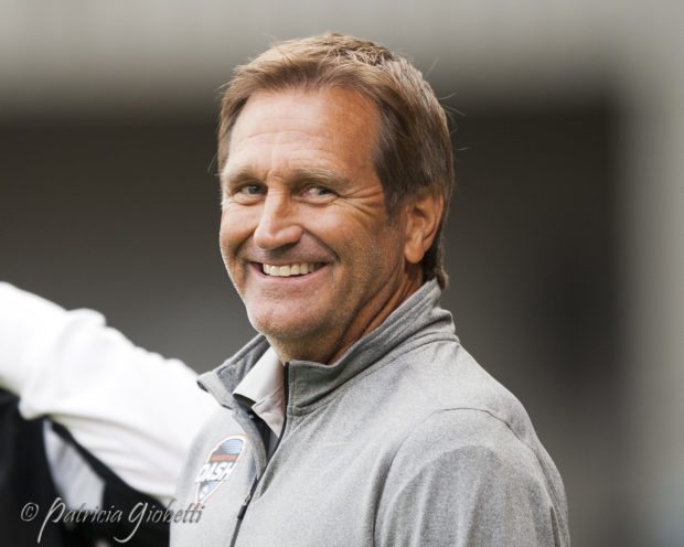 Randy Waldrum says the Dash are not built around any one player. (Photo Copyright Patti Giobetti for The Equalizer)