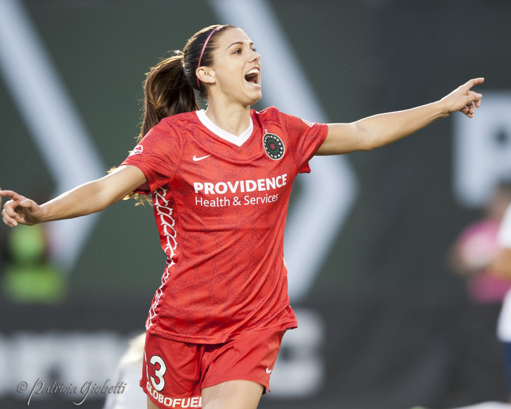 Alex Morgan will play for the Orlando Pride in 2016. (Photo Copyright Patricia Giobetti for The Equalizer)