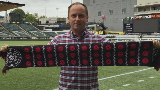 """Mark Parsons signed a """"long-term contract extension"""" to stay as(Photo:  Portland Thorns FC)"""