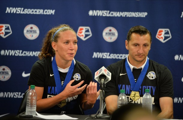 Head coach Vlatko Andonovski has masterfully managed his FC Kansas City roster through three seasons, but how will he deal with losing legendary Lauren Holiday? (Photo:  FC Kansas City)