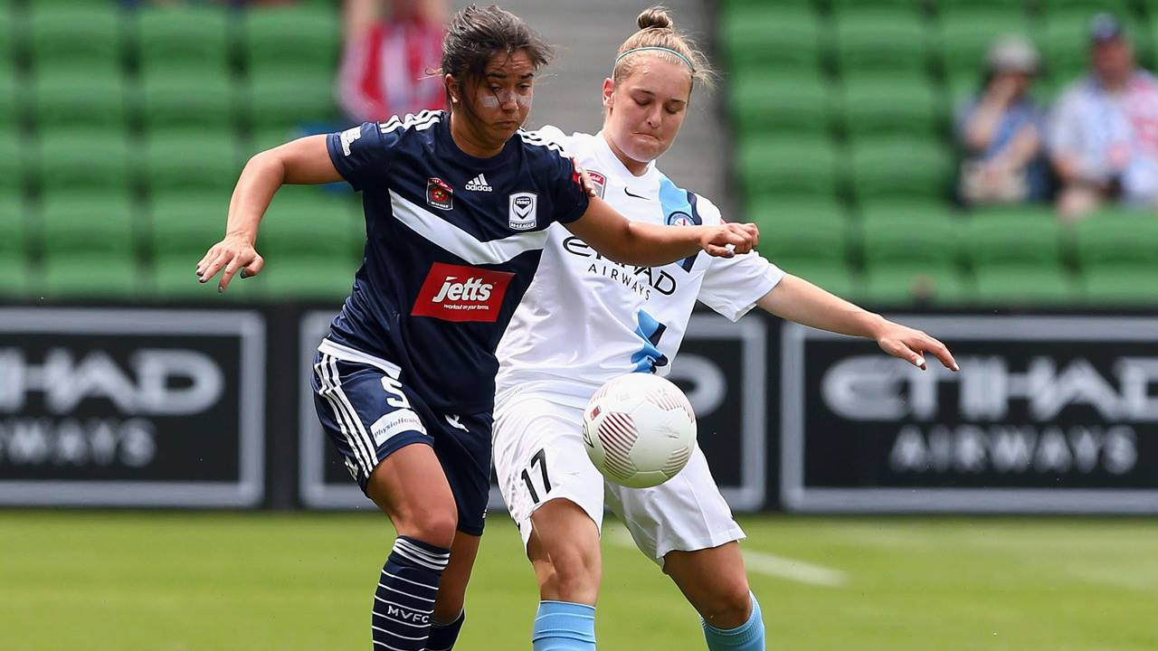Melbourne City defeated Melbourne Victory in the first ever Melbourne derby. (Photo: Westfield W-League)