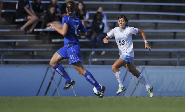 Brooke Elby signed with the Boston Breakers. (Photo: UNC Athletics)