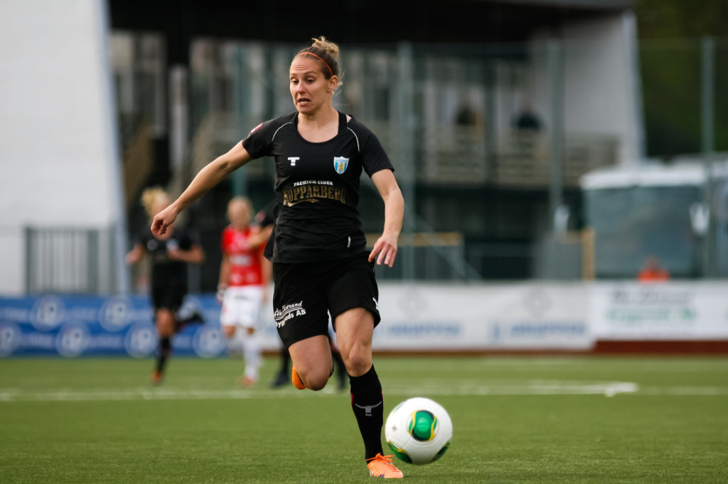 New Seattle Reign FC signing Manon Melis is the Netherlands' all-time leading scorer. (Photo: Goteborg)