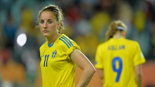 Swedish midfielder Antonia Göransson has signed with Seattle Reign FC. (Photo: UEFA)