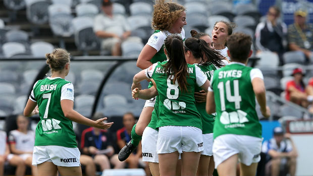 Canberra United moved into 2nd this week. (Photo: Westfield W-League0