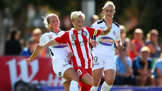 Jessica Fishlock and Melbourne City have nine points after three rounds of fixtures. (Photo: Westfield W-League)