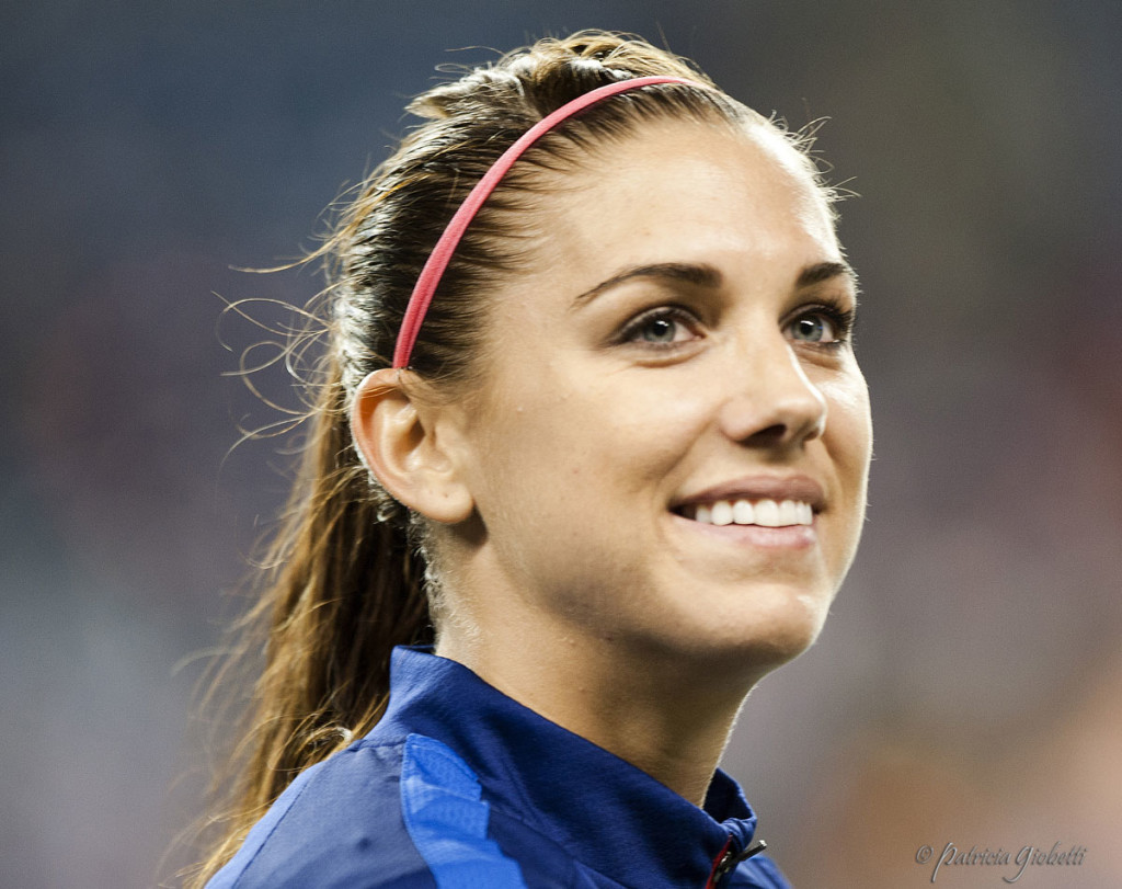Alex Morgan says playing conditions on the USWNT's victory tour have been unacceptable. (Photo Copyright Patricia Giobetti for The Equalizer)