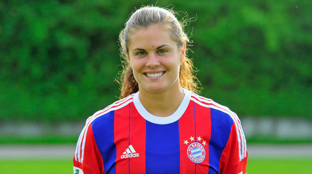 Katie Stengel will be the Spirit's center forward this season, allowing Crystal Dunn to do even more freelancing.