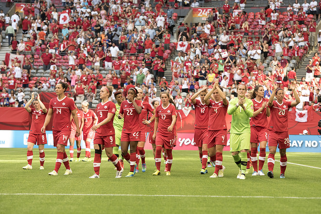Canada advanced to the quarterfinals of the World Cup on home soil in 2015. (Photo: Canada Soccer)