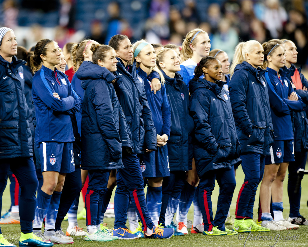 U.S. Soccer and the USWNT Players Association are at odds over the validity of a CBA ahead of CONCACAF Olympic qualifying. (Photo Copyright Patricia Giobetti for The Equalizer)