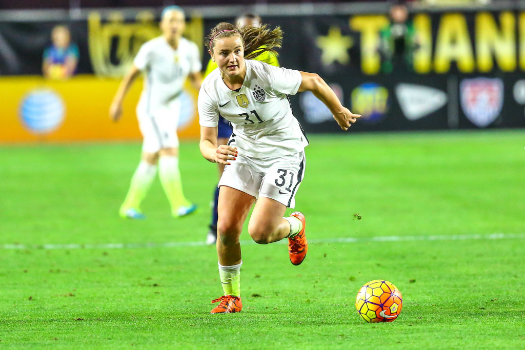 Lindsey Horan is officially a Thorn. She was allocatted to Orlando and traded to Portland. (Photo Courtesy of Arianna Grainey Photography)