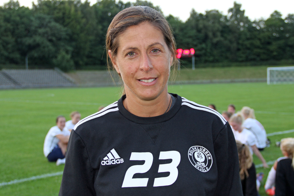 Denise Reddy is an assistant with the Washington Spirit, but only about 3 in 10 NWSL coaches are female.