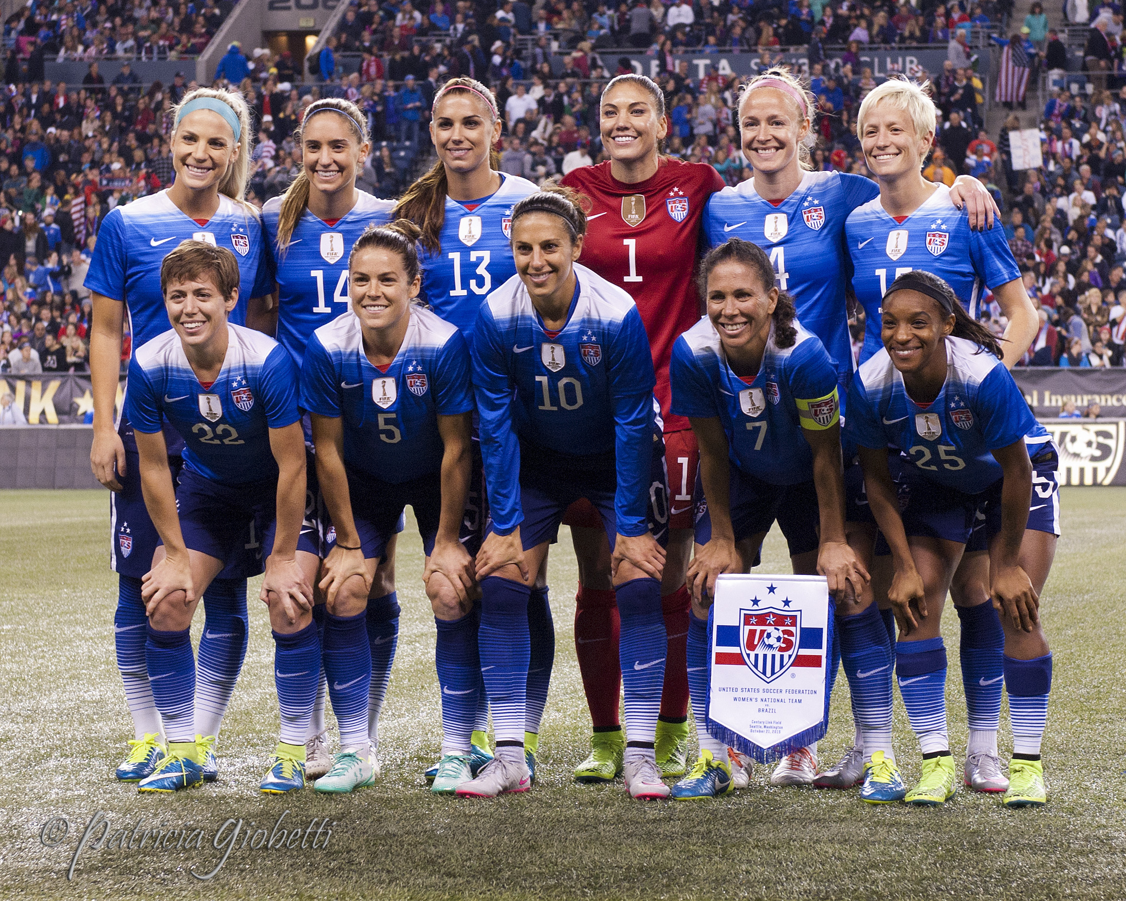 e667a8dee Carli Lloyd (10) and Becky Sauerbrunn (4) are the new captains of