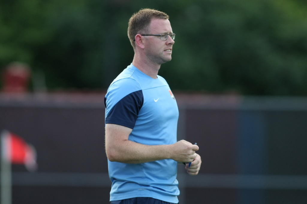 Christy Holly has been promoted to head coach of Sky Blue FC ahead of the 2016 NWSL season. (Photo Courtesy Robyn McNeil/Sky Blue FC)