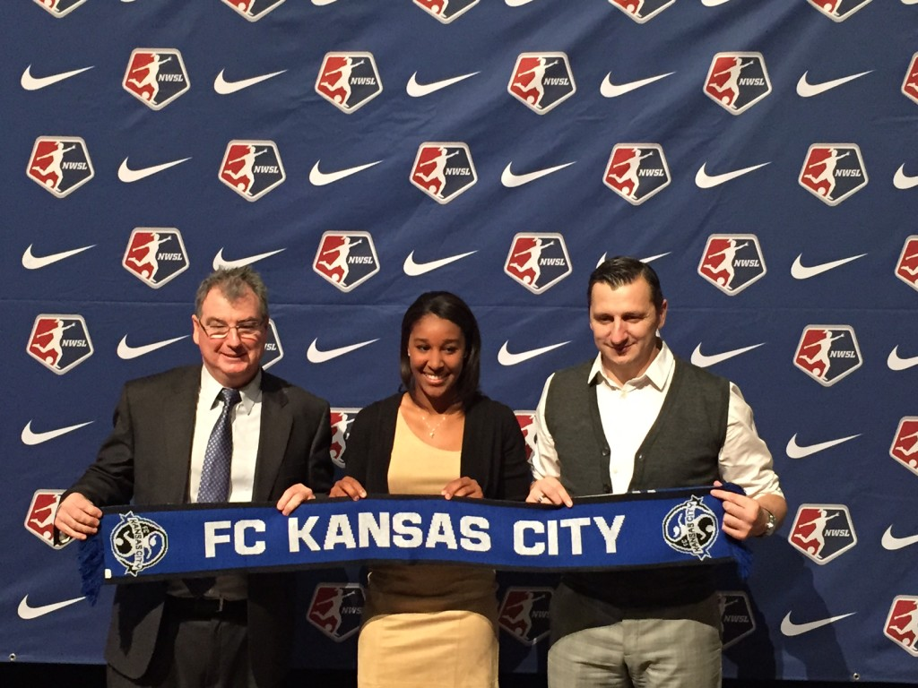 Rutgers defender Brianne Reed was drafted No. 18 overall to FC Kansas City. (Photo Copyright Jeff Kassouf for The Equalizer)