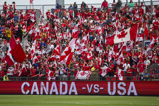 Canada and USA face off Sunday in the CONCACAF Women's Olympic Qualifying final. (Photo: Canada Soccer)